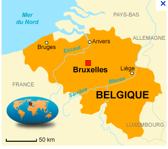 Belgium Dci Map on